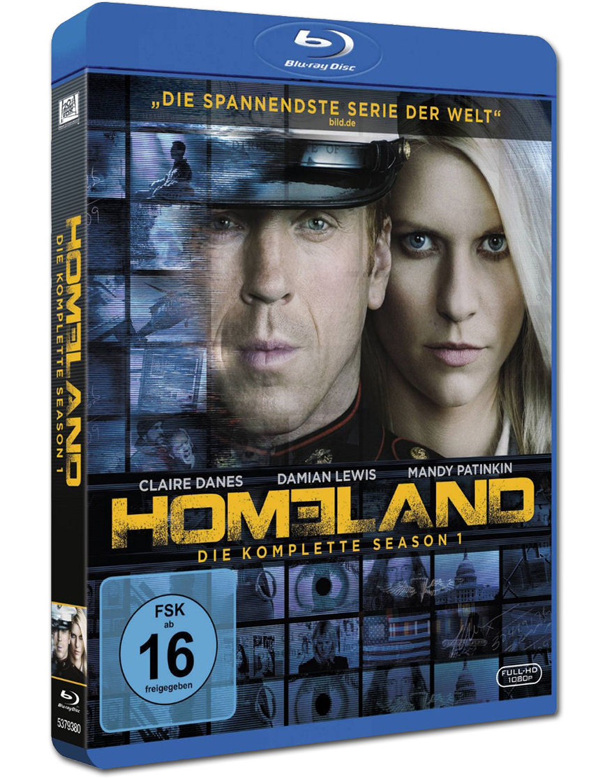 Homeland Staffel 1 Blu Ray 3 Discs Blu Ray Filme World Of Games