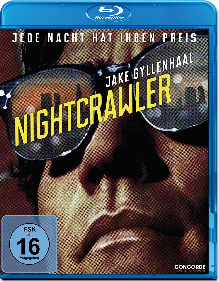 nightcrawler jede nacht hat ihren preis blu ray blu ray. Black Bedroom Furniture Sets. Home Design Ideas