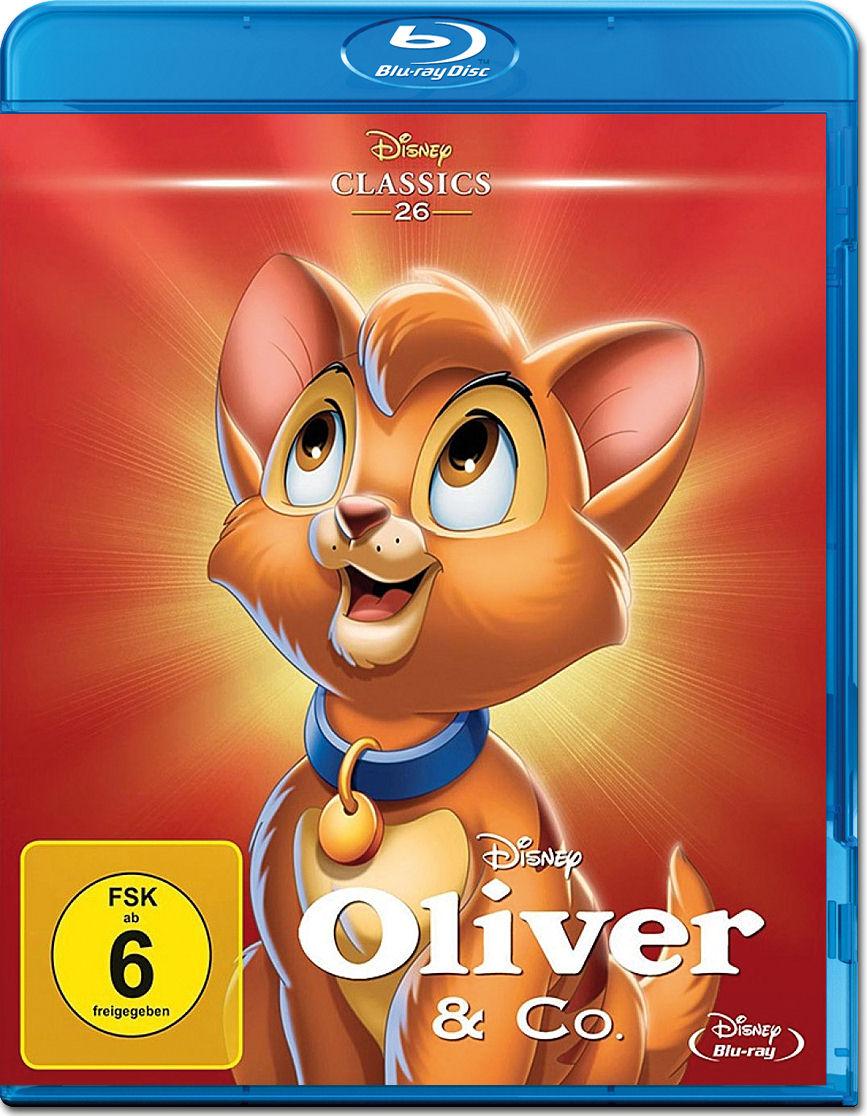 Oliver Co Disney Classics Blu Ray Blu Ray Filme World Of Games