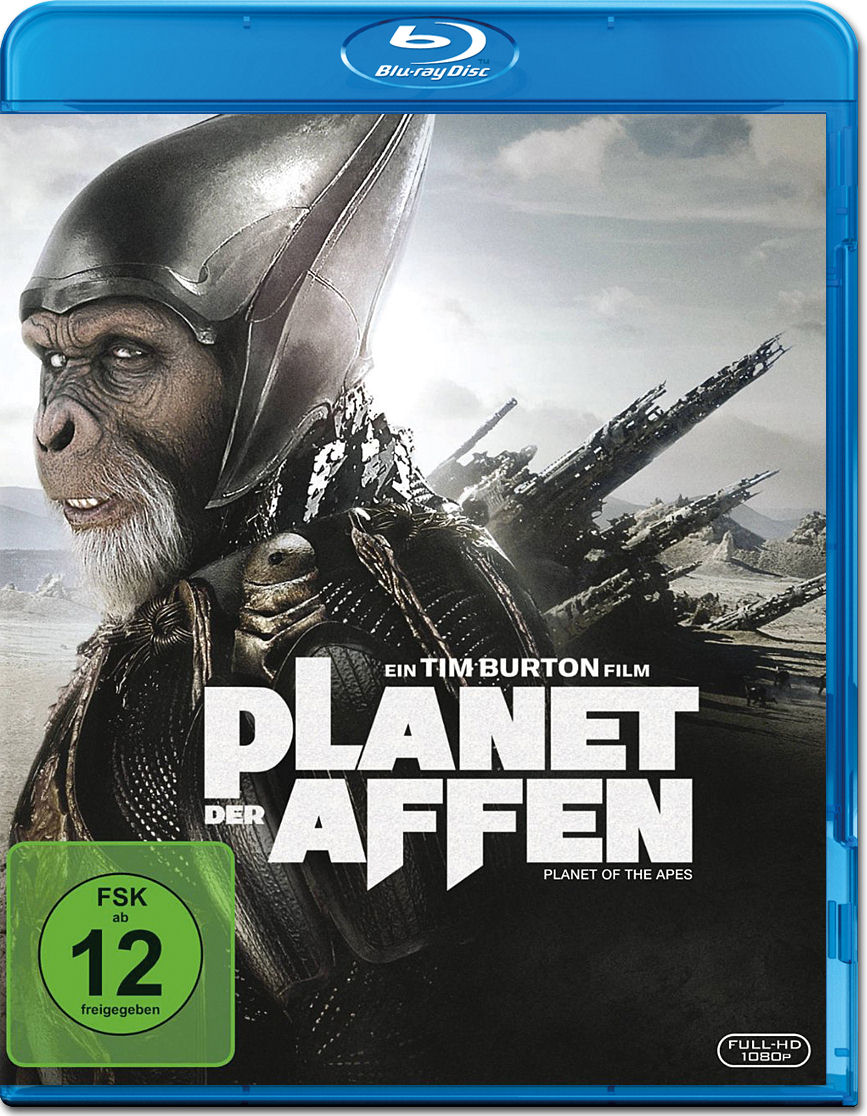 Planet der Affen (2001) Blu-ray [Blu-ray Filme] • World of