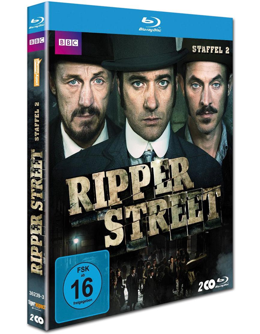 Ripper Street Staffel 2