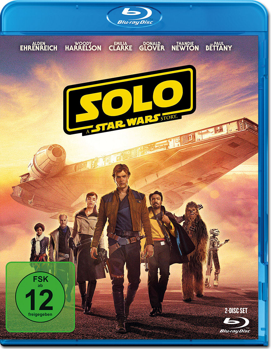 Solo A Star Wars Story Blu Ray Cover Ruckseite