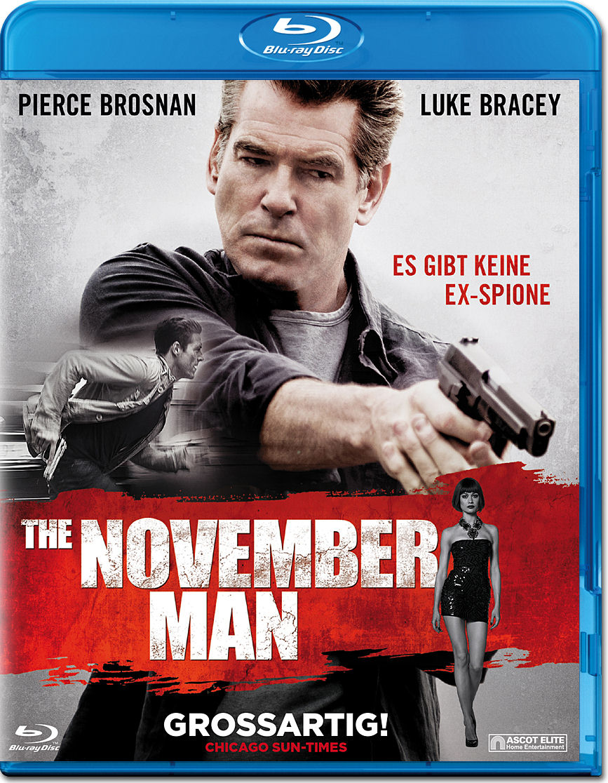 The November Man Blu-ray [Blu-ray Filme] • World of Games