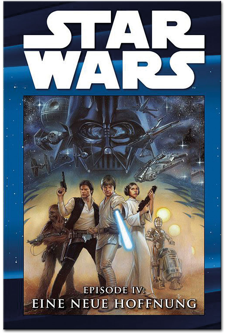 Star Wars Comic Kollektion 02 Episode Iv Eine Neue Hoffnung Comics Cartoons World Of Games