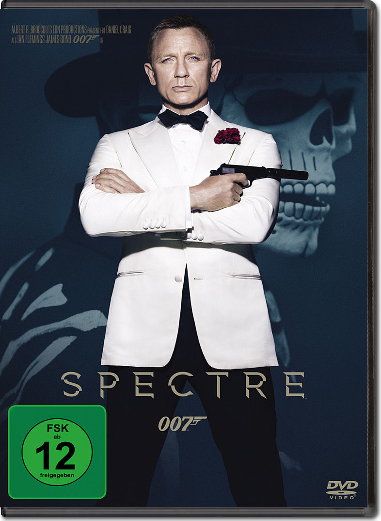 james bond 007 spectre dvd filme world of games. Black Bedroom Furniture Sets. Home Design Ideas