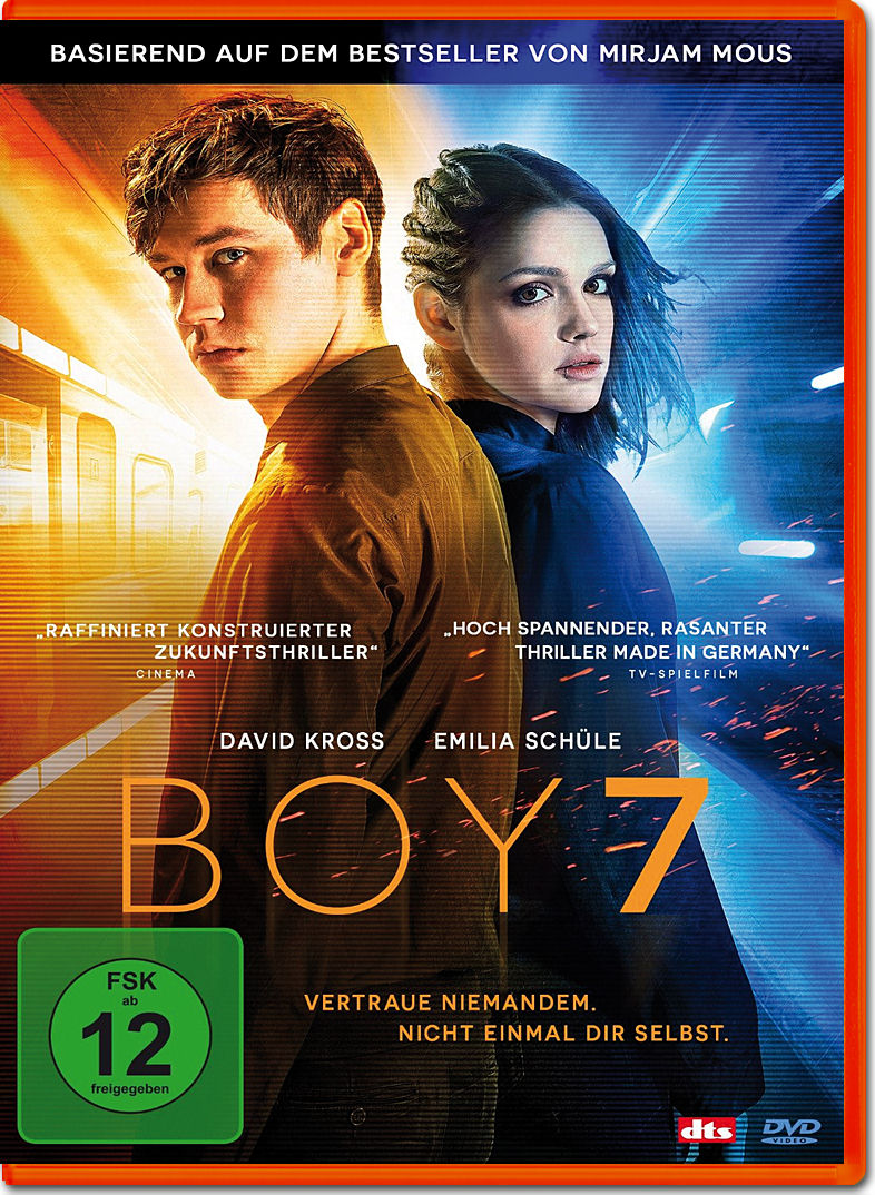 Boy 7 [DVD Filme] • World of Games