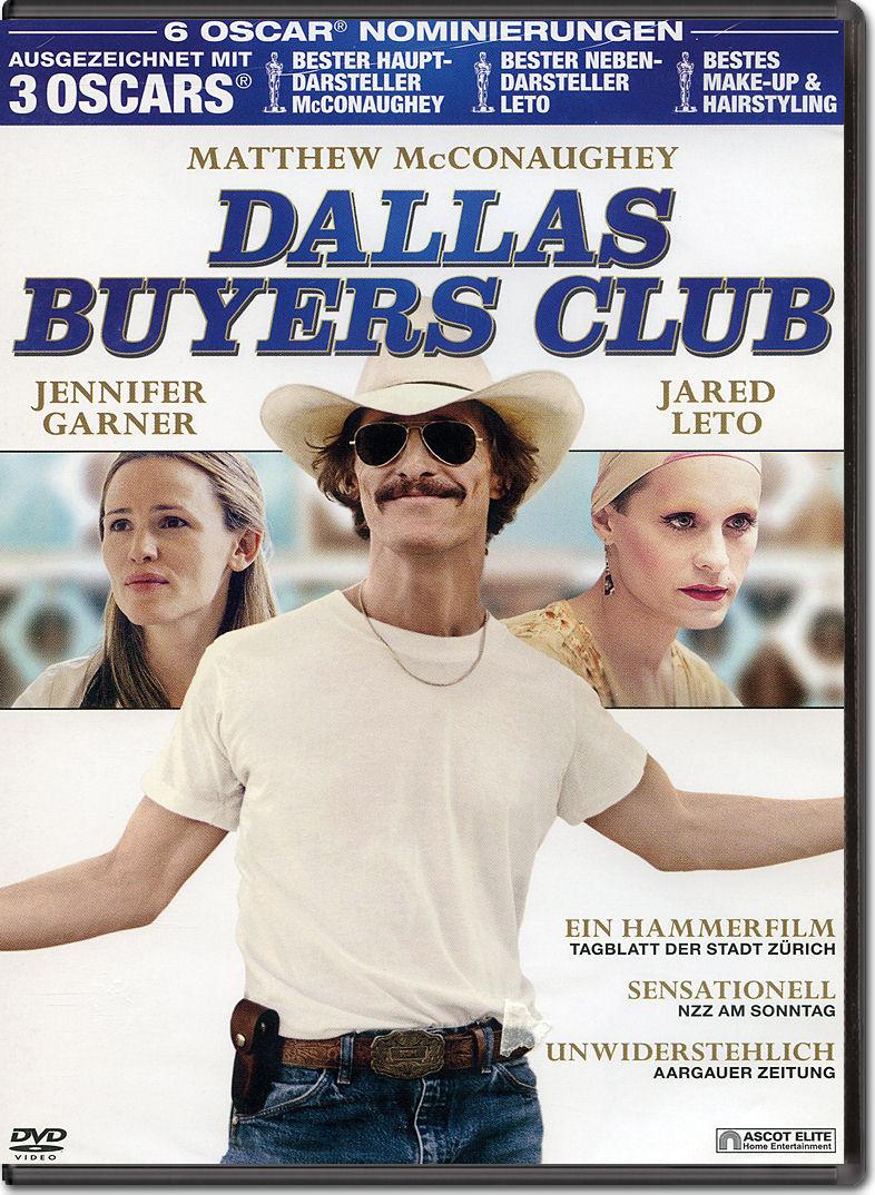 Dallas Buyers Club [DVD Filme] • World of Games  Dallas