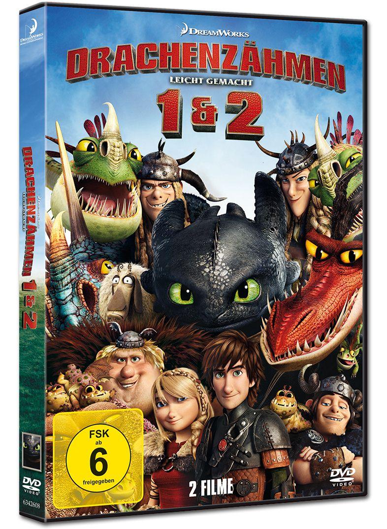 Drachenzähmen leicht gemacht 1&2 (2 DVDs) [DVD Filme] • World of Games