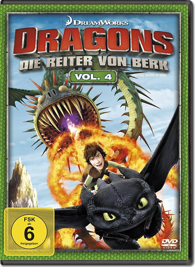 dragons die reiter von berk vol 4 dvd filme world of games. Black Bedroom Furniture Sets. Home Design Ideas