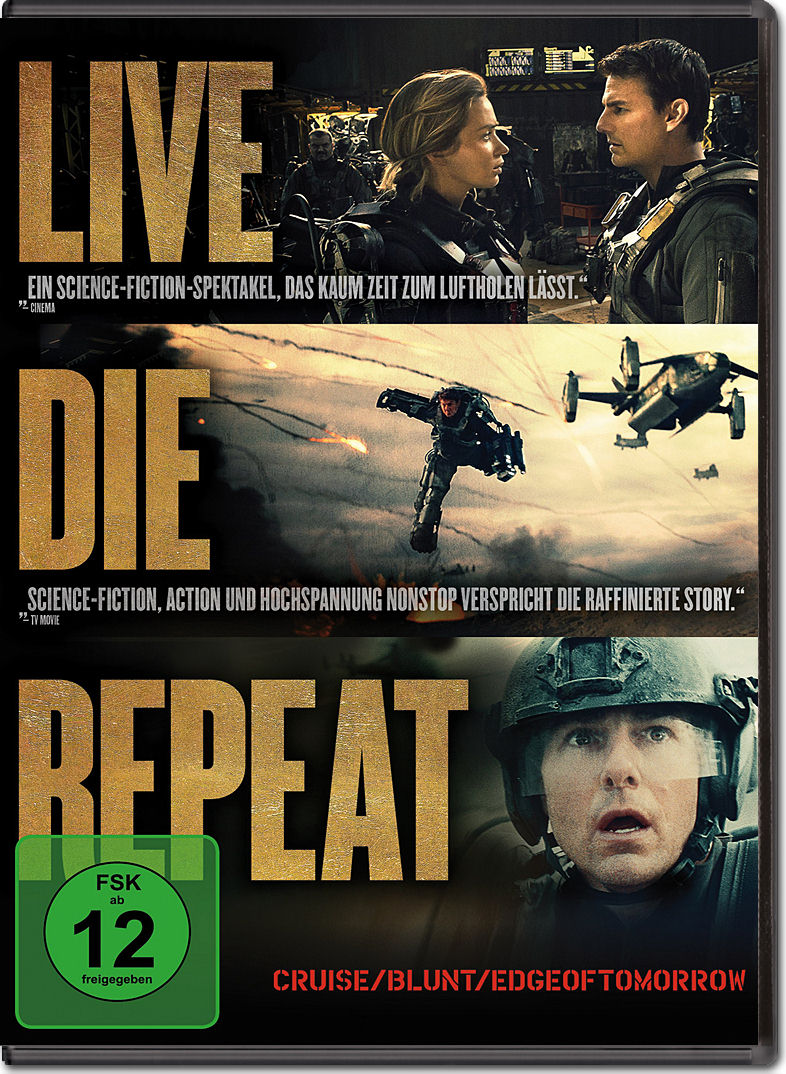 Live Die Repeat Dvd Filme World Of Games