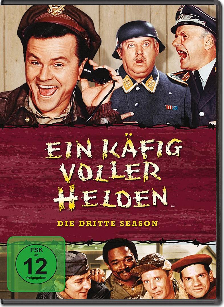 Ein Käfig Voller Helden Staffel 3 5 Dvds Dvd Filme World Of Games