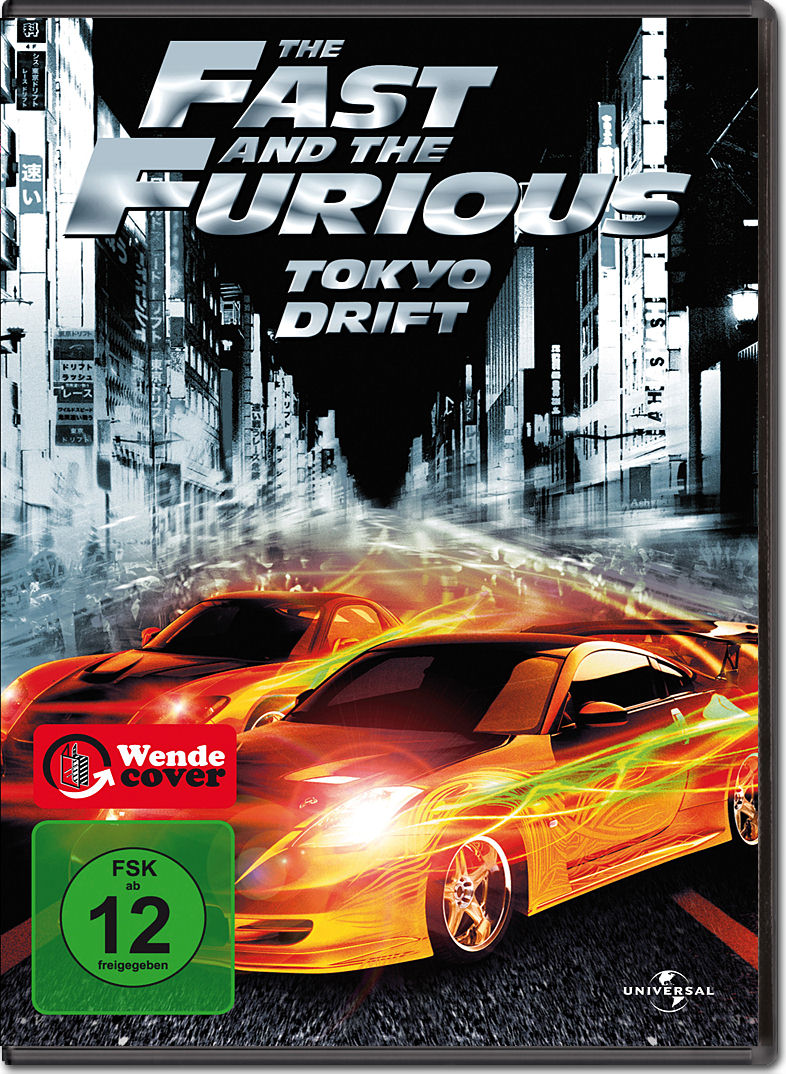 The Fast And The Furious 3  Tokyo Drift  Dvd Filme