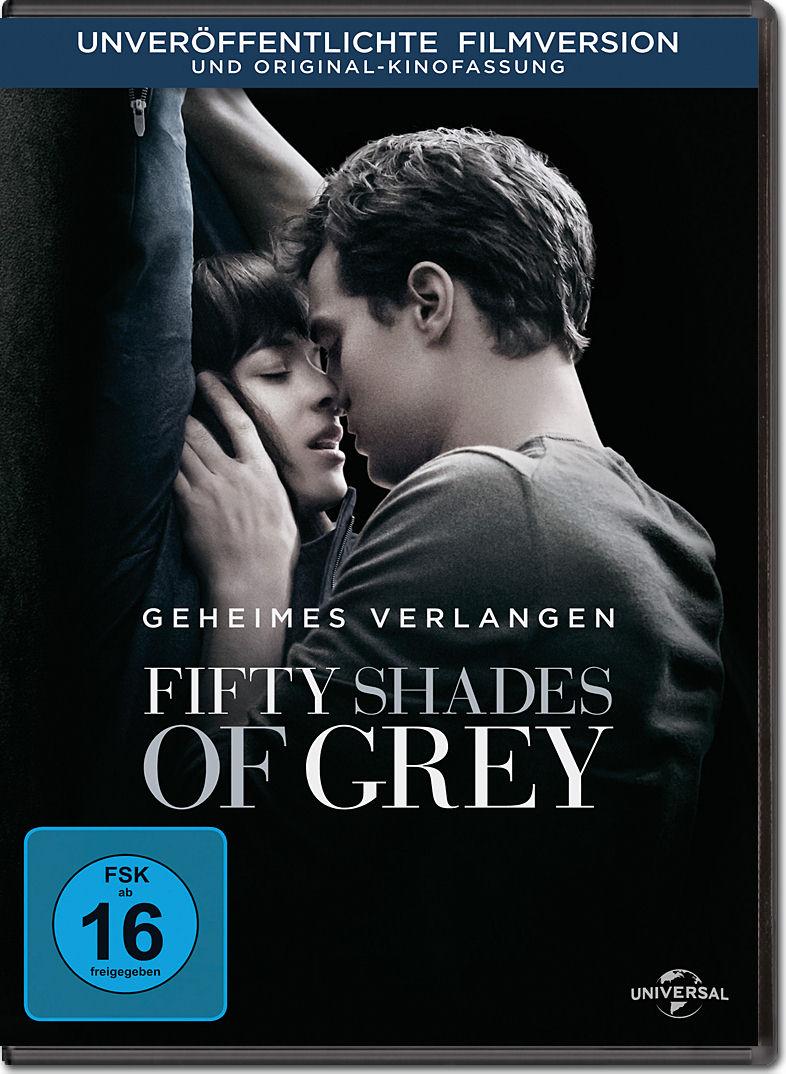 Fifty Shades of Grey 1: Geheimes Verlangen [DVD Filme