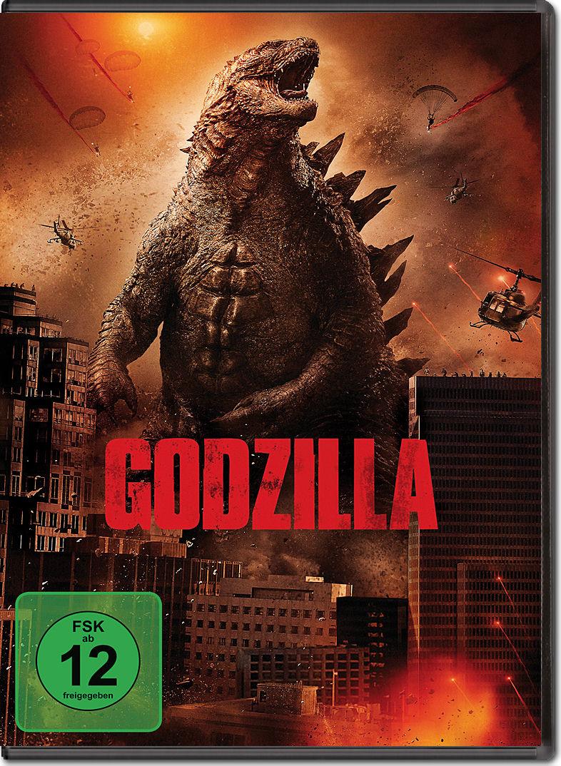 Godzilla (2014) [DVD F...