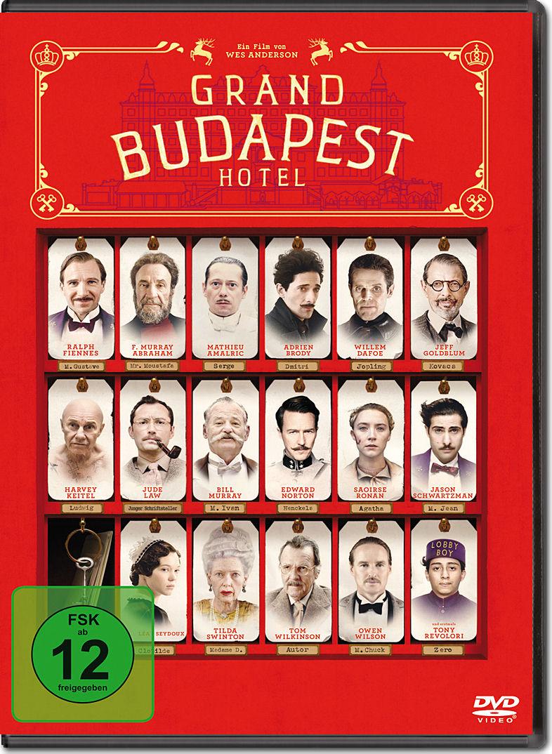 Filme Wie Grand Budapest Hotel