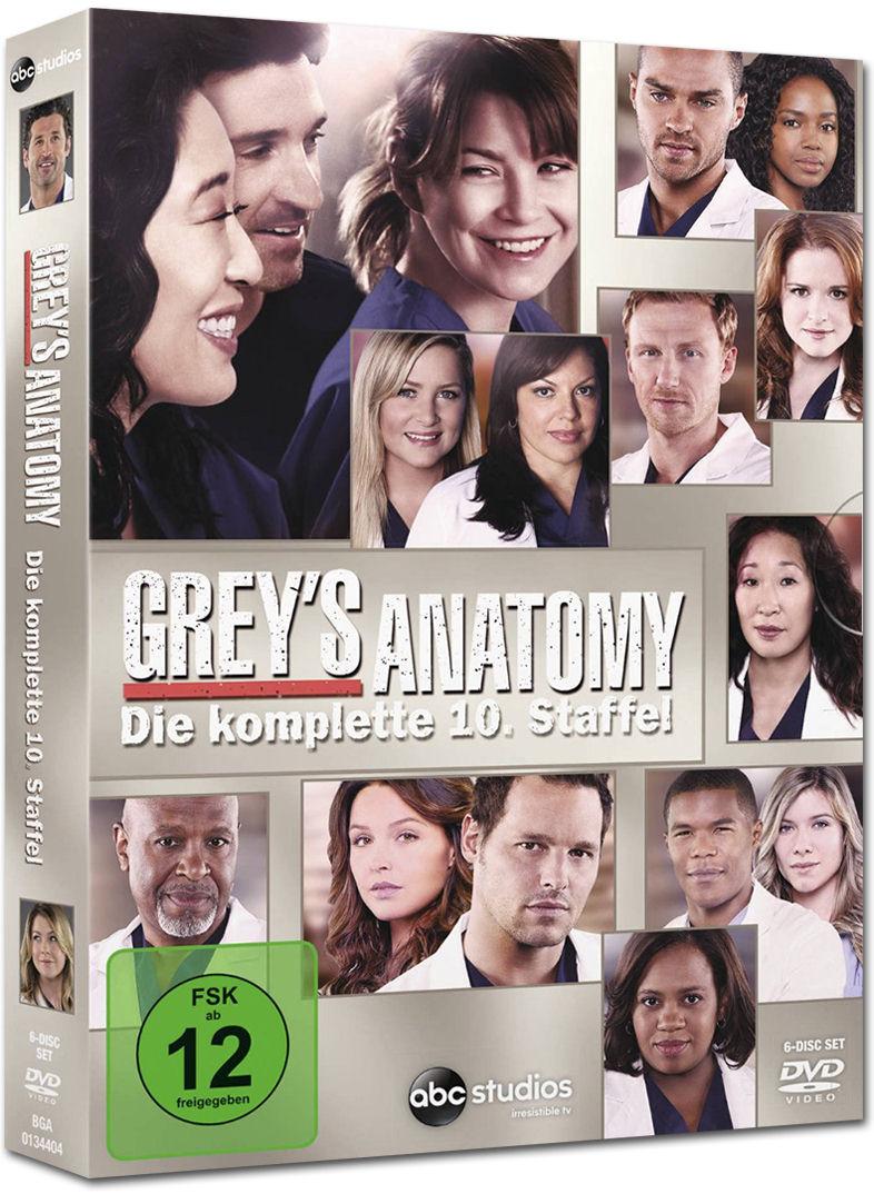 Grey\'s Anatomy: Staffel 10 (6 DVDs) [DVD Filme] • World of Games