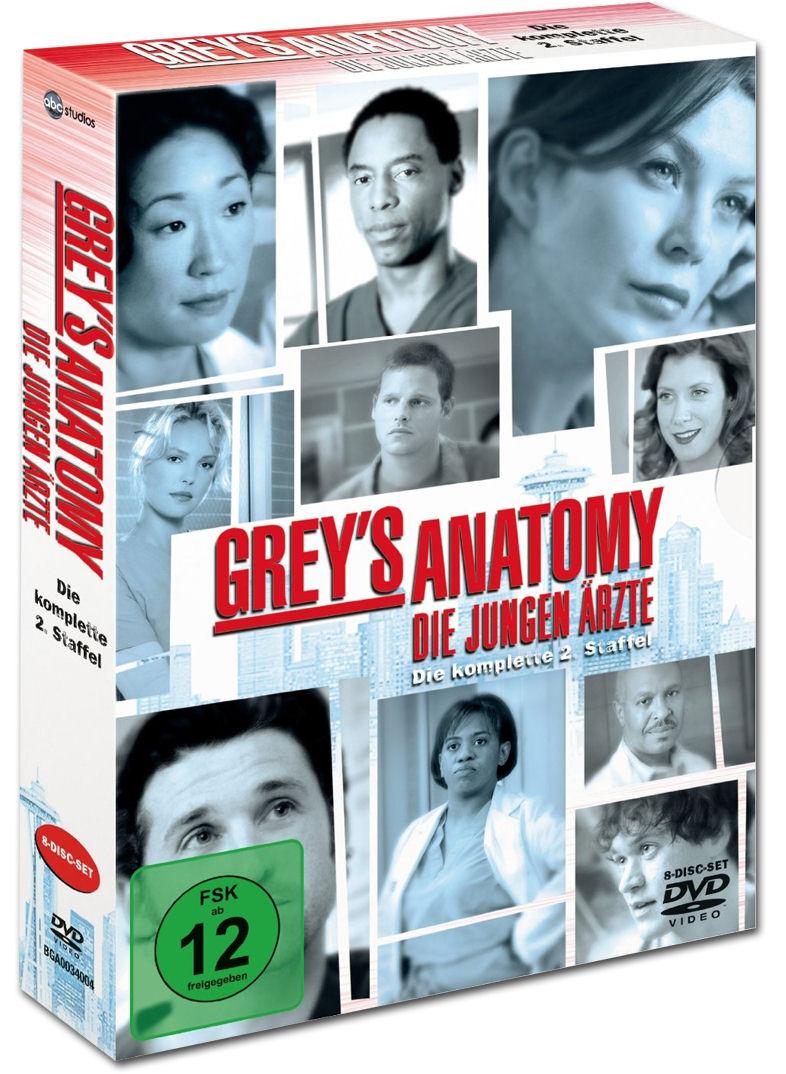 Grey's Anatomy: Staffel 02 Box (8 DVDs) [DVD Filme