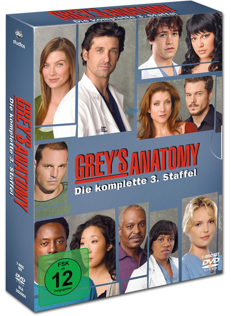 Grey's Anatomy: Staffel 03 (7 DVDs) [DVD Filme] • World Of