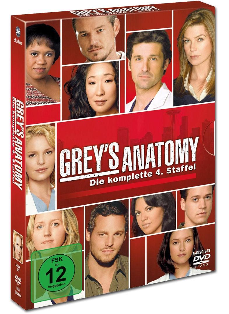 Grey's Anatomy: Staffel 04 (5 DVDs) [DVD Filme] • World Of