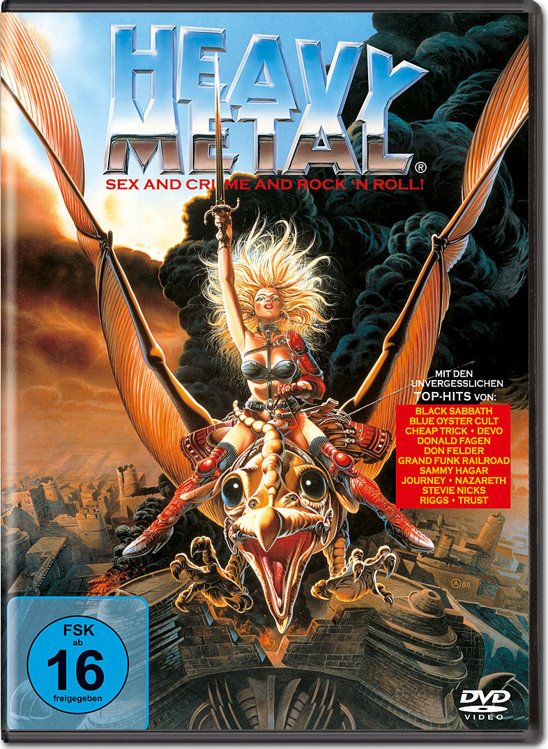Rock And Roll Games >> Heavy Metal [DVD Filme] • World of Games
