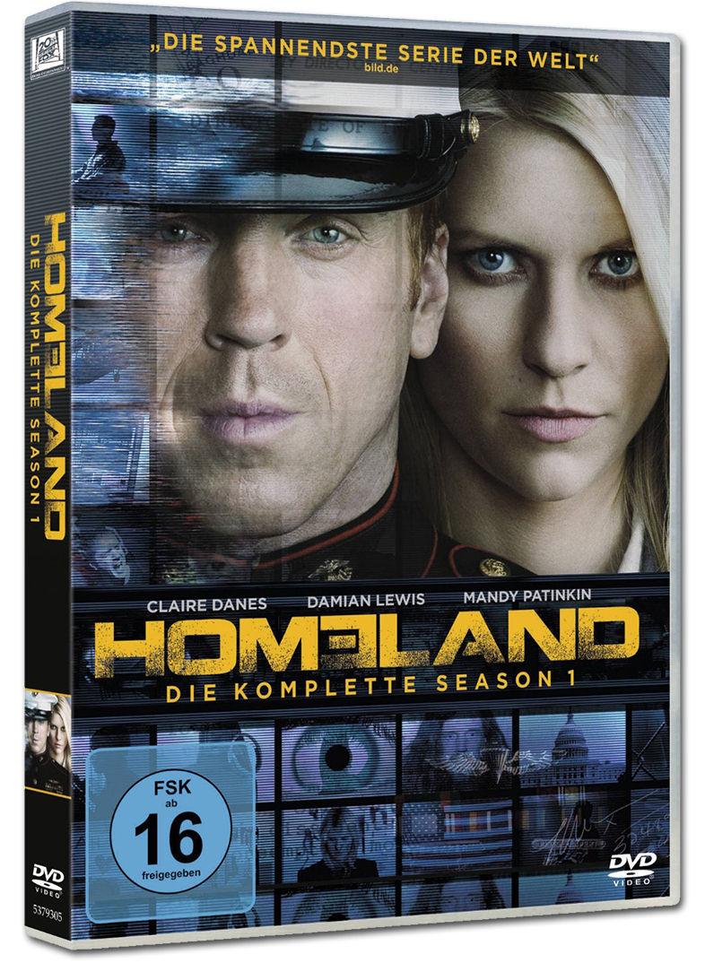 Homeland Staffel 1 4 Dvds Dvd Filme World Of Games
