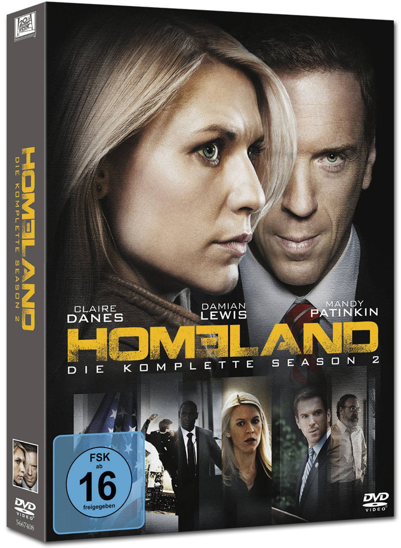 Homeland Staffel 2 4 Dvds Dvd Filme World Of Games