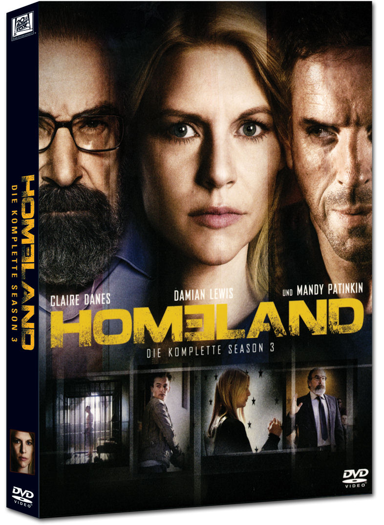 Homeland Staffel 3 4 Dvds Dvd Filme World Of Games