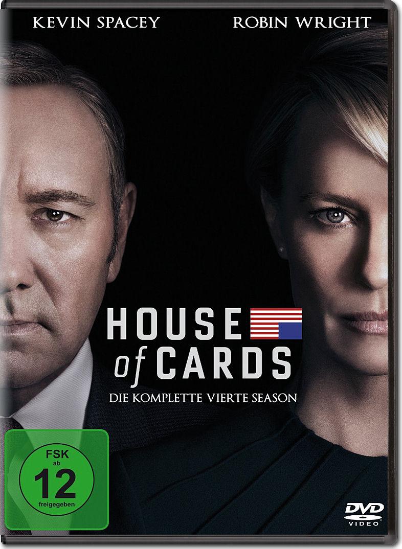 House Of Cards Staffel 4 Box 4 Dvds Dvd Filme World