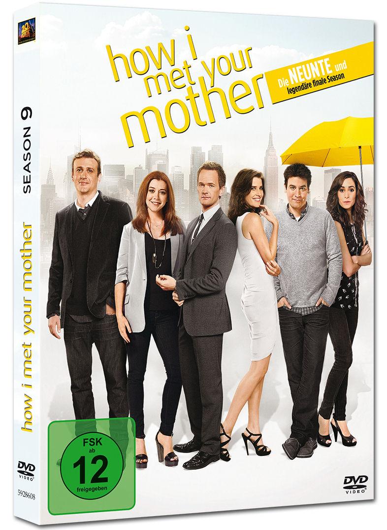 how i met your mother season 9 box 3 dvds dvd filme