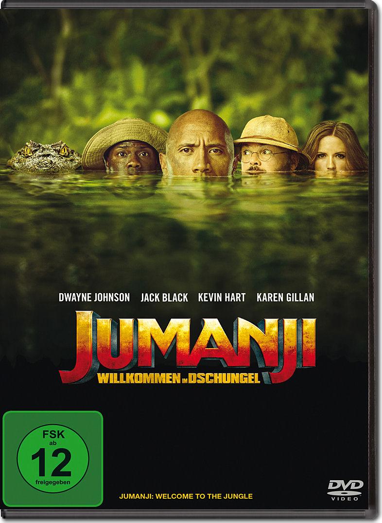 Jumanji Willkommen Im Dschungel Dvd Filme World Of Games