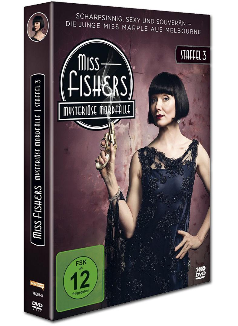 Miss Fishers mysteriöse Mordfälle: Staffel 3 Box (3 DVDs ...