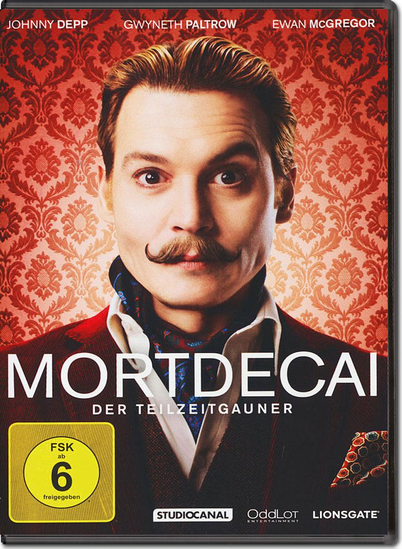 Mortdecai DVD Filme World Of Games