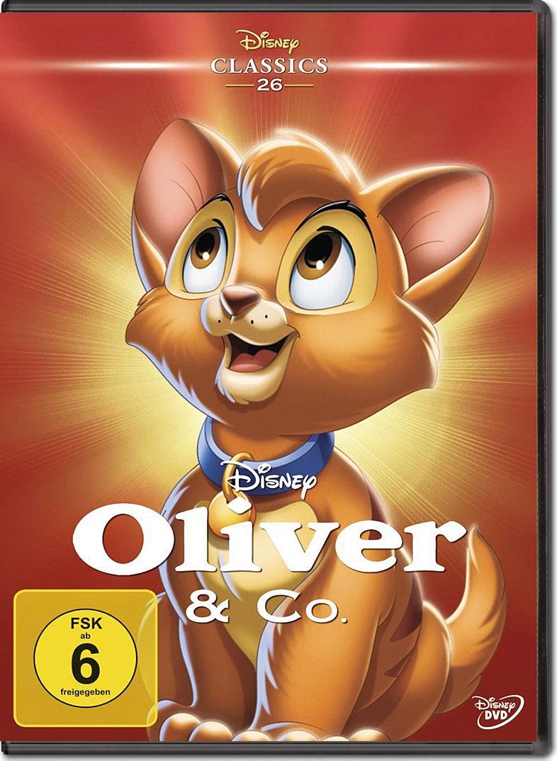 oliver co disney classics dvd filme world of games. Black Bedroom Furniture Sets. Home Design Ideas