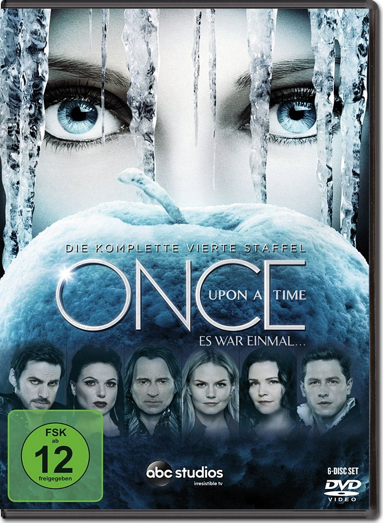 once upon a time es war einmal staffel 4 6 dvds