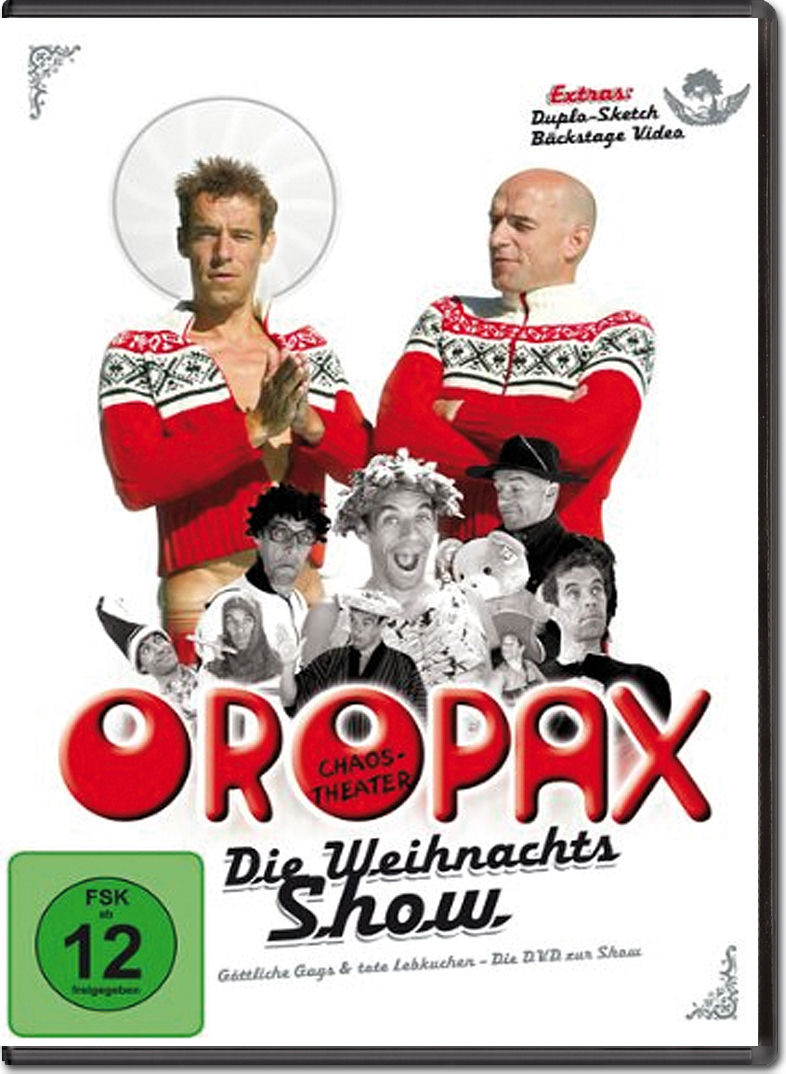 oropax die weihnachtsshow dvd filme world of games. Black Bedroom Furniture Sets. Home Design Ideas