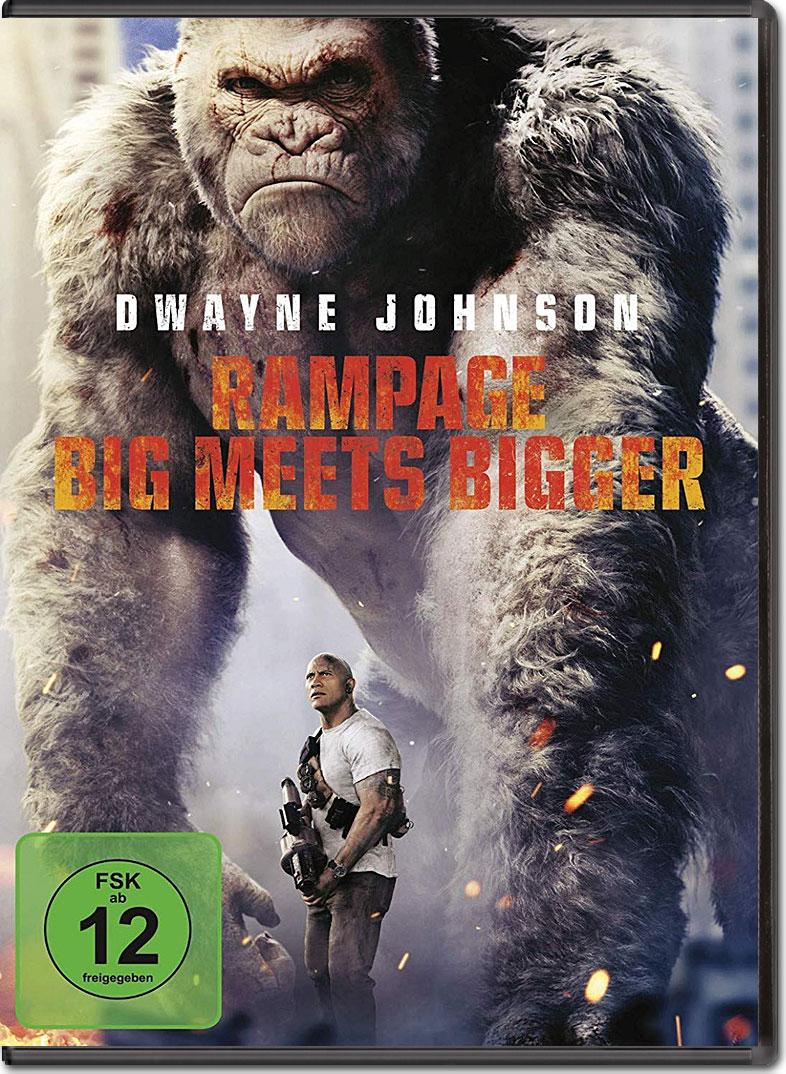 Rampage Big Meets Bigger Dvd Filme World Of Games