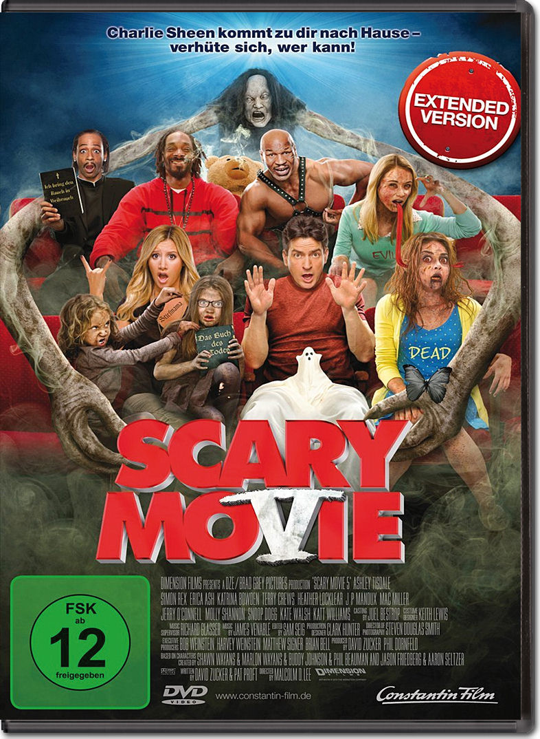 scary movie 5 dvd filme � world of games