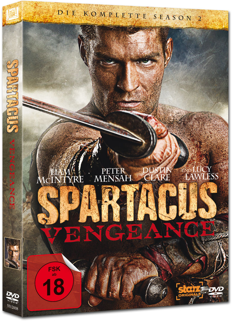 Filme Spartacus intended for spartacus: vengeance - season 2 box (4 dvds) [dvd filme] • world