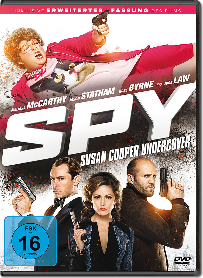 Spy Susan Cooper Undercover Dvd Filme World Of Games