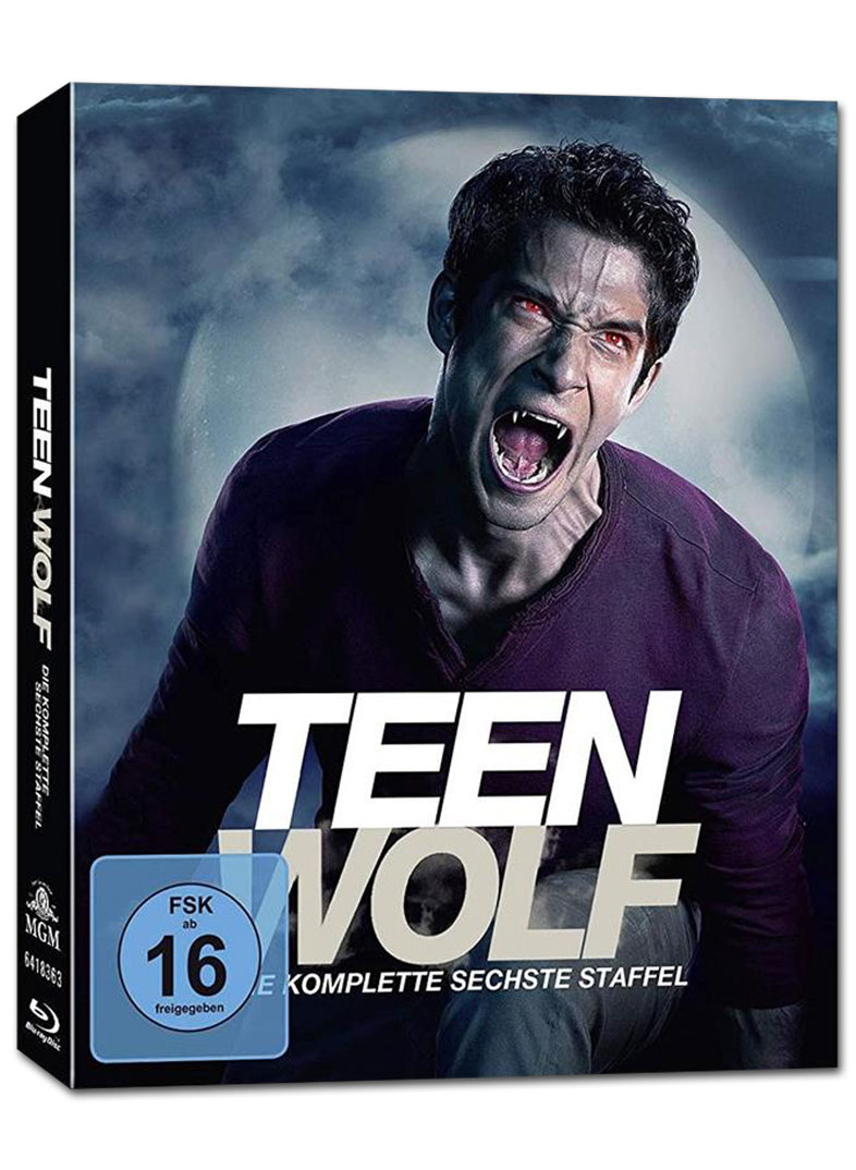 Teen Wolf Staffel 6 7 Dvds Dvd Filme World Of Games