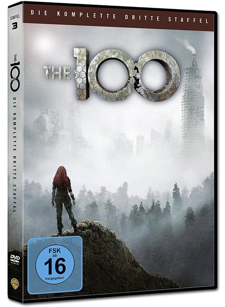 the 100 staffel 3 4 dvds dvd filme world of games. Black Bedroom Furniture Sets. Home Design Ideas