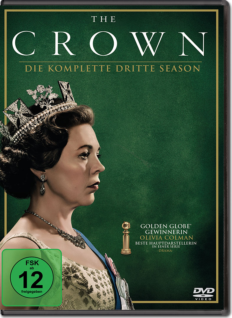 The Crown Staffel 3 4 Dvds Dvd Filme World Of Games