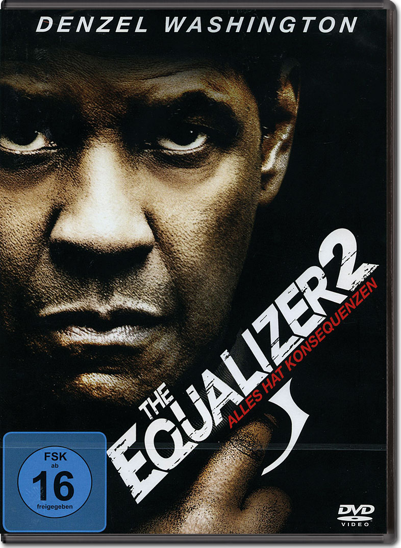 The Equalizer 2 Dvd Filme World Of Games