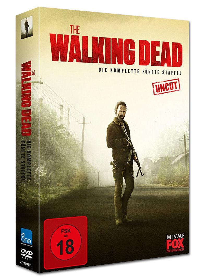 The Walking Dead Staffel 5 5 Dvds Dvd Filme World Of Games