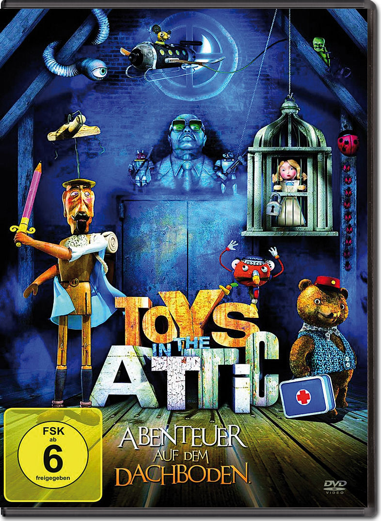 toys in the attic abenteuer auf dem dachboden dvd filme world of games. Black Bedroom Furniture Sets. Home Design Ideas