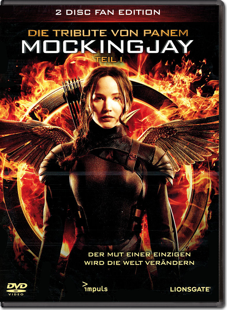 Die tribute von panem mockingjay teil 1 fan edition 2 dvds dvd filme world of games for Die tribute von panem 2