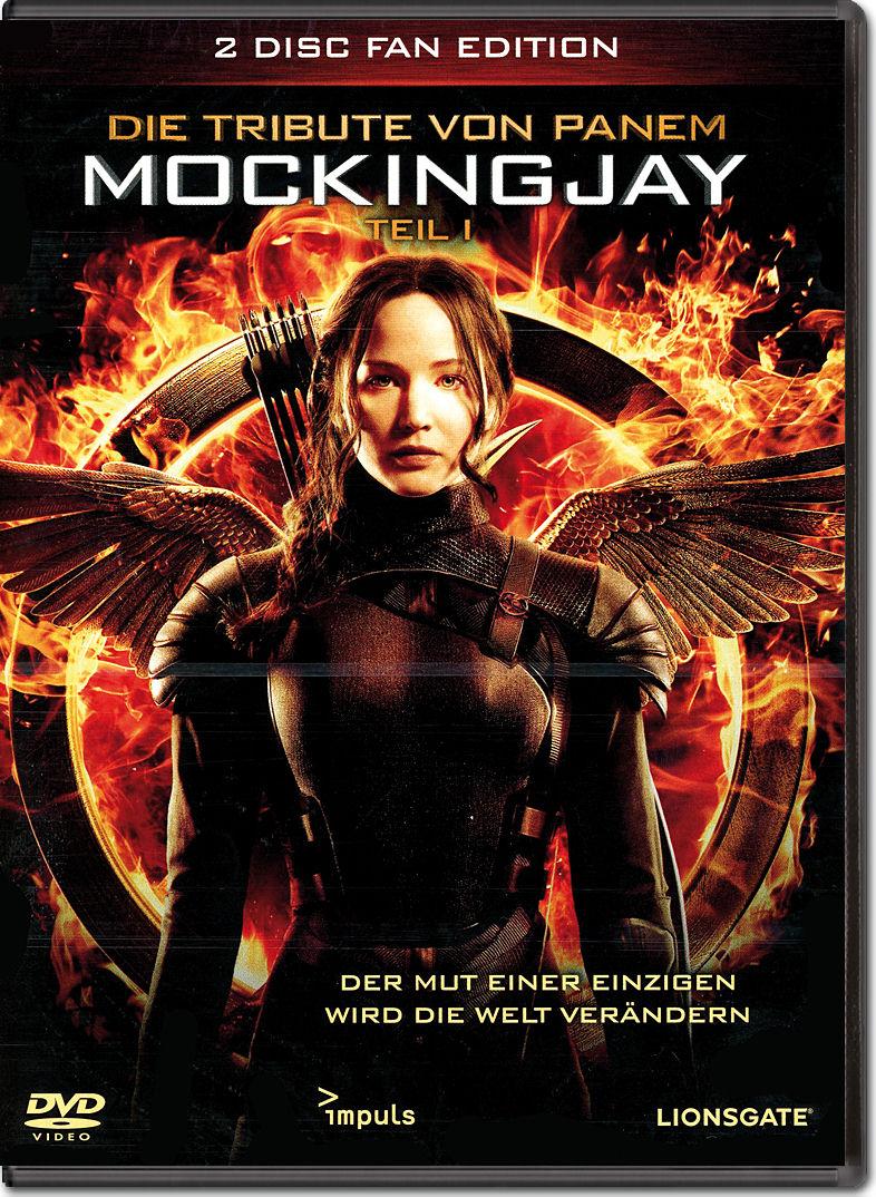Die Tribute von Panem: Mockingjay Teil 1 - Fan Edition (2 ... Stanley Tucci Hunger Games