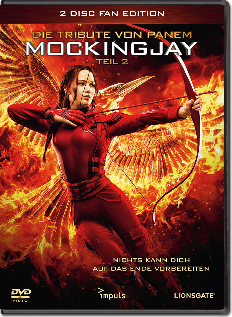 Die tribute von panem mockingjay teil 2 fan edition 2 dvds dvd filme world of games for Die tribute von panem 2