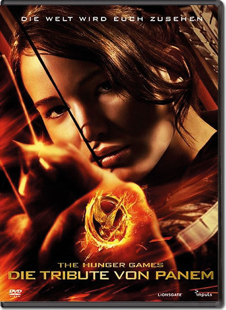 Die tribute von panem the hunger games dvd filme world of games for Die tribute von panem 2