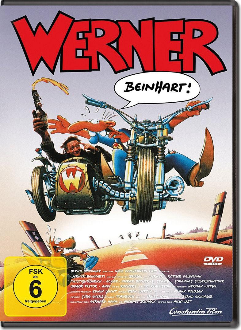 Werner 1: Beinhart! [DVD Filme] • World of Games